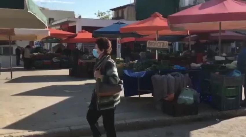 Η λαϊκή αγορά Σπάρτης σήμερα 11/11/2020 (video)