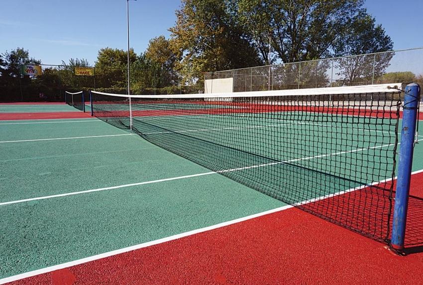 Κρατήσεις θέσεων στα γήπεδα τέννις  από05/01/2020