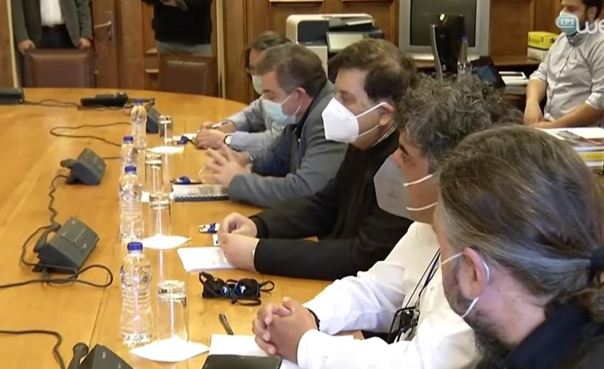 Συνάντηση του ΔΣ της ΟΛΜΕ με τον Πρόεδρο του ΣΥΡΙΖΑ και τους Τομεάρχες Παιδείας
