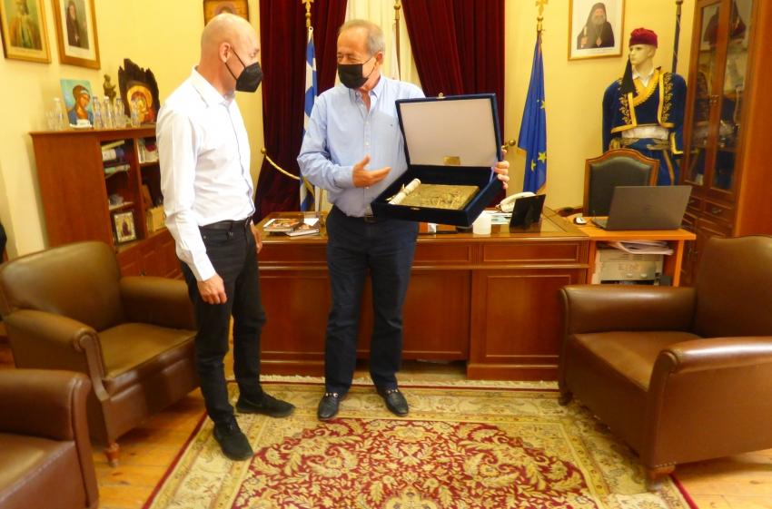 Στο Δήμο Ανατολικής Μάνης για τους δασικούς χάρτες ο Υφυπουργός Περιβάλλοντος και Ενέργειας κ. Γιώργος Αμυράς