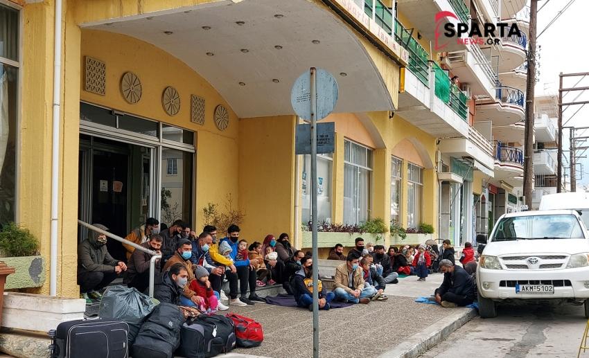 Ενημέρωση του Δήμου Σπάρτης σε σχέση με τους μετανάστες