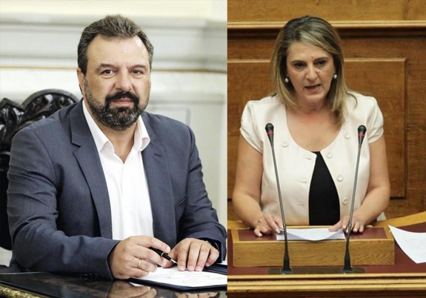 Αραχωβίτης-Τελιγιορίδου: «Ερώτηση για τον ΟΠΕΚΕΠΕ: Πρωτόγνωρα γεγονότα και δικαστική εμπλοκή με κίνδυνο για τις επιδοτήσεις»