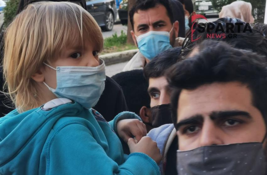 """ΕΠΙΤΡΟΠΗ ΑΛΛΗΛΕΓΓΥΗΣ  ΣΠΑΡΤΗΣ: """"Η κυβέρνηση της Ν.Δ. πετάει στο δρόμο πρόσφυγες και μικρά παιδιά"""""""