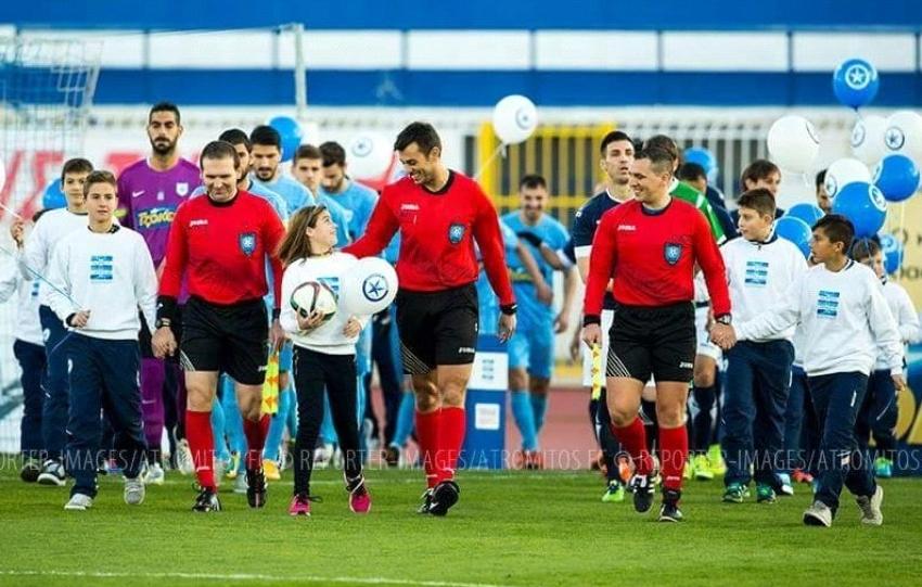 Ο Σπαρτιάτης διαιτητής Σ.Σελίμος αποχαιρετά τα γήπεδα